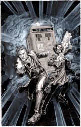 Doctor Who by TonyParkerArt