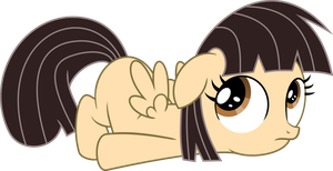 Filly Wild Fire (now with wings) Vector by ClockworkSprocket