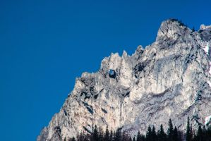Hole in Mountain - Tragoess Austria #2 by Surfinger