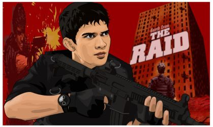 The Raid Redemption Movie by AkiraFuriken