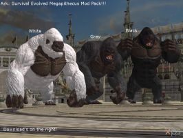 Megapithecus Mod Pack for XPS! by Jorn-K-Nightmane