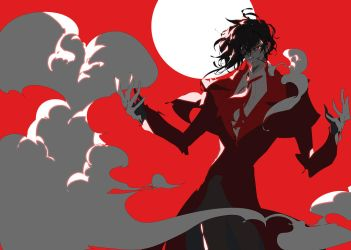 rough comissino_Alucard by muse-kr
