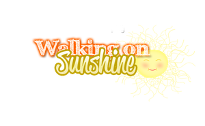 Walking On Sunshine PNG by MyAdoratiionBabyV