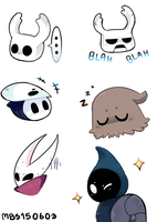 Hollow Knight emotes by MBS150603