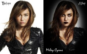 Photoshop Miley Goth by edit-express