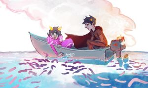 first ship by octopus-interphone