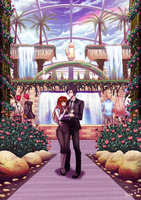 Jumin's Private Garden by rialynkv