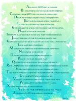 ABCs Of A Fruitful Life by Seed-Of-Faith