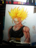 Trunks Dbz by HenryDradye