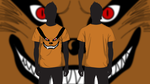 Kurama T-shirt design by KevinWScherrer