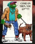 Chav TMNT by dikiminster