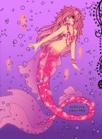 Wild Pink Mermaid by LadyIlona1984