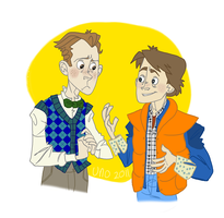 Marty and Emmett by Uno-Duo