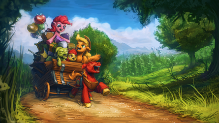 To the Apple Core by AssasinMonkey