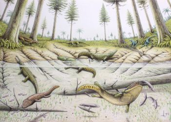 Triassic Krasiejow by RavePaleoArt