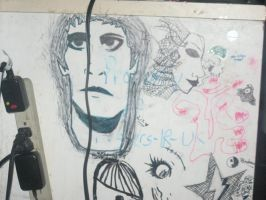 Lou Reed in Sharpie by Lizzie-Leeches