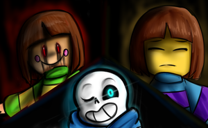 Megalomaniac - Animation | Undertale (Link bellow) by CamilaAnims