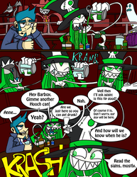Badtown, page 1 by DrZootsuit