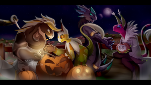 October Prompt - Pumpkin Carving #1 by Arvata