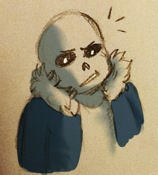 another sans by Crystal-Gryphon