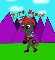 Fire Heart the Fire knight by epic-agent-63