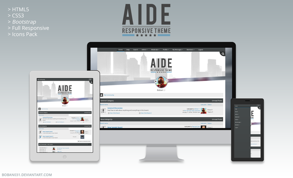 Aide SMF Responsive Theme by Boban031