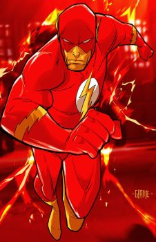 The Flash by johnnymorbius
