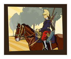 12th Regiment of Dragoons by MercenaryGraphics