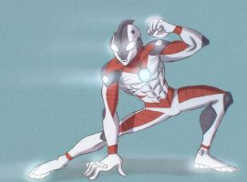Ultraman by DocSinistar