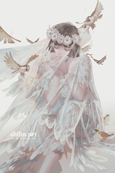 Minstrel - Patreon piece by shilin
