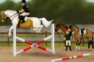 Day 2 - An Introduction to Elite Show Jumping by Palominobrumbyfilly