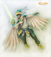 Guate Eagle Warrior by Guiler-717