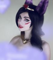 Sweetheart Xayah - costest by MightyRaccoon by LetzteSchatten-stock