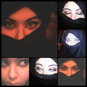 Arab inspired makeup. by ChristineK6277