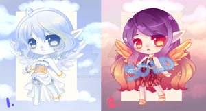 Sky Elf: Closed Species: AUCTION: CLOSED by RaineSeryn
