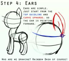 The eight steps to drawing ponies! 4/8 by masterchief80786