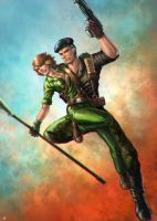 Flint Lady Jaye by cric