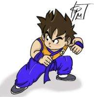 Goku Re-Imagined by SparkyPantsMcGee