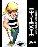 DeathNote the other side-Matt- by godlightyagami