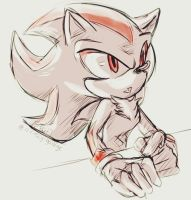 Shadow the hedgehog - [doodle] by Effieart