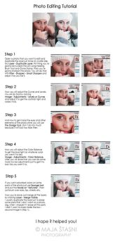 Basic Photo Editing Tutorial by fatallook