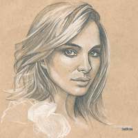 Natalie Portman 2 #Sketchbook by dankershaw