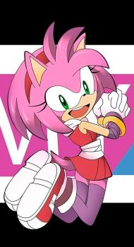 amy practice by Hachizo-chan