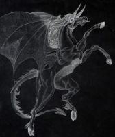 Demon Horse by ApocalypticMongoloid