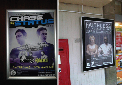 Faithless, Chase and Status by mapgie