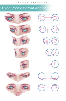 How To Draw Eyes In Angles by wysoka