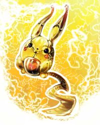 Robochu used Discharge by pAtChEzS