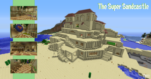 The Super Sand Castle! by Cheesedoctor22