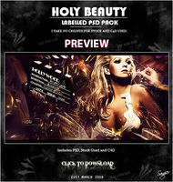 Holly Beauty PSD Pack by Sangiev