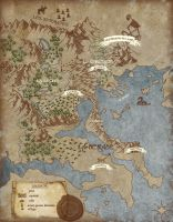 Fantasy Map by simorette